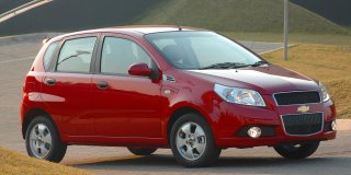 chevrolet aveo 1.6 ls 5-door at