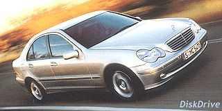 Mercedes C240 Avantgarde Touchshift