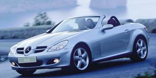 mercedes slk200k touchshift