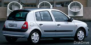 renault clio 1 5 dci expression 2004 8 car specs renault clio specifications information. Black Bedroom Furniture Sets. Home Design Ideas