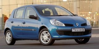 renault clio 3 1 5 dci expression 5 door 2006 6 car specs renault clio 3 specifications. Black Bedroom Furniture Sets. Home Design Ideas