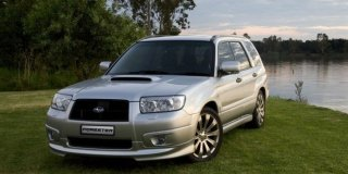 subaru forester 2 5 xt prodrive edition 2007 5 car specs. Black Bedroom Furniture Sets. Home Design Ideas