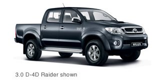 toyota hilux 2010 2 5 d-4d d/cab r/body raider 2010-10 - Car